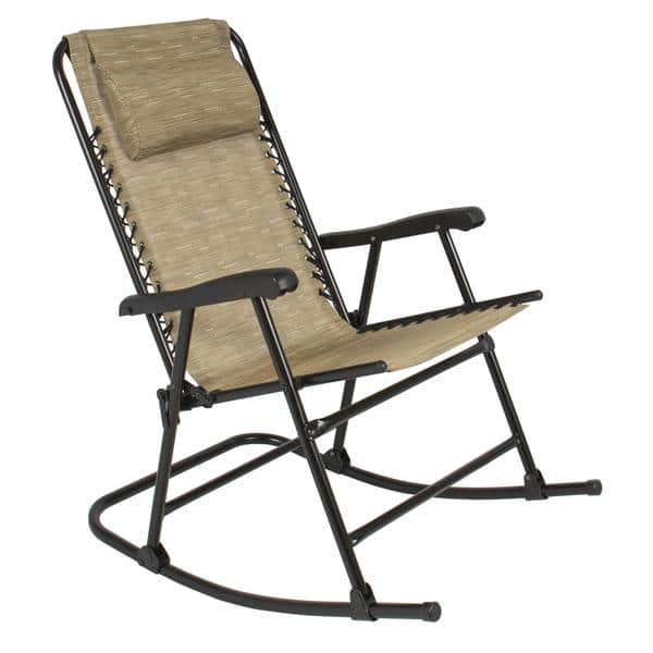 Foldable Outdoor Rocking Chair $44.99 + Free Shipping