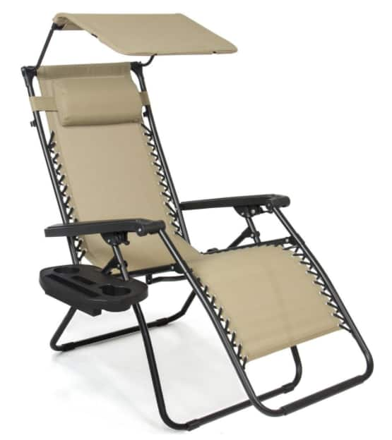 Superb Zero Gravity Chair with Canopy