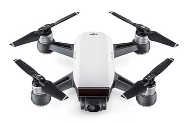 DJI Spark Mini Quadcopter Fly More Combo RC Drone with HD Camera (Alpine White) $589.99