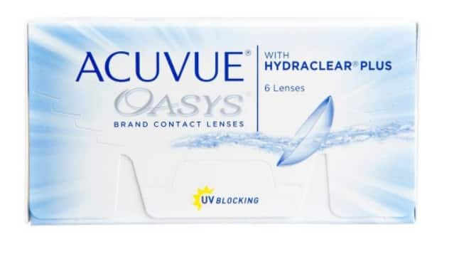Acuvue Oasys 45% off (6 pack) $29.64