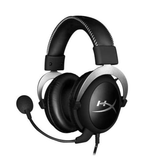 HyperX CloudX Gaming Headset (Silver) $69.99