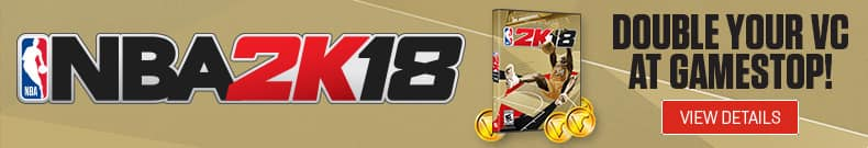 Gamestop NBA 2k18
