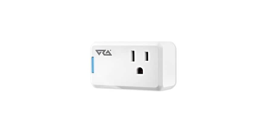 Alexa-Enabled Ora MINISMARTPLUG Wi-Fi Mini Smart Plug - 2 ($27.99) or 4 Pack ($49.99) + $5 dollar shipping $29.99