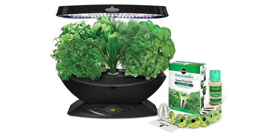 AeroGarden 7 LED Indoor Garden with Gourmet Herb Seed Kit for $79.99 + $5 shipping