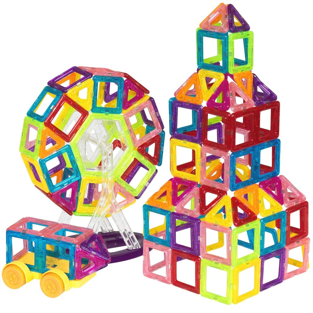 Best Choice Products 158 PC Magnetic Tiles $30