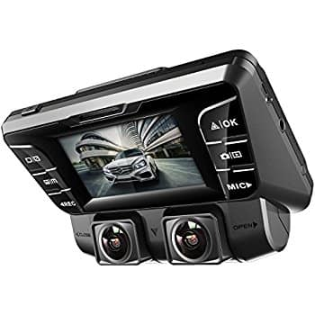Pruveeo C2 Dual 1080p Front and Rear Dash Cam $89.59