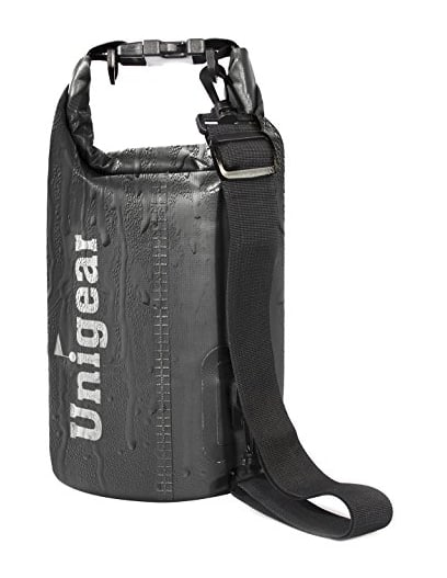 Unigear dry bag with extra waterproof phone case for $5.49 AC @Amazon (Various Size & Various Colors)
