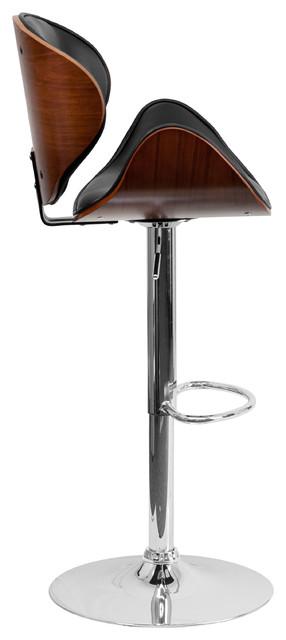Bentwood Adjustable Swivel Bar Stool $78.99 + Free Shipping