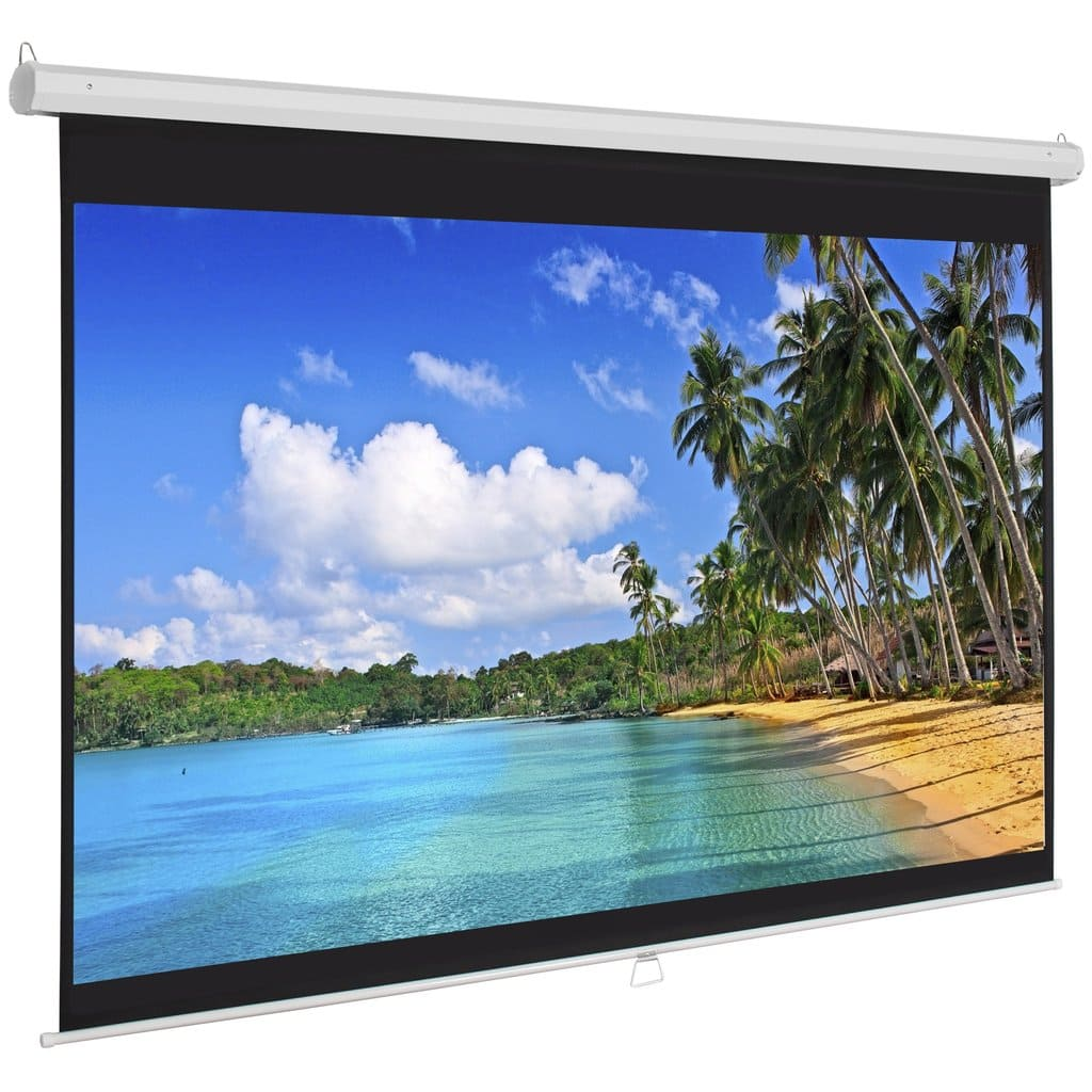 Best Choice Products Projector Screen $40 + Free Shipping
