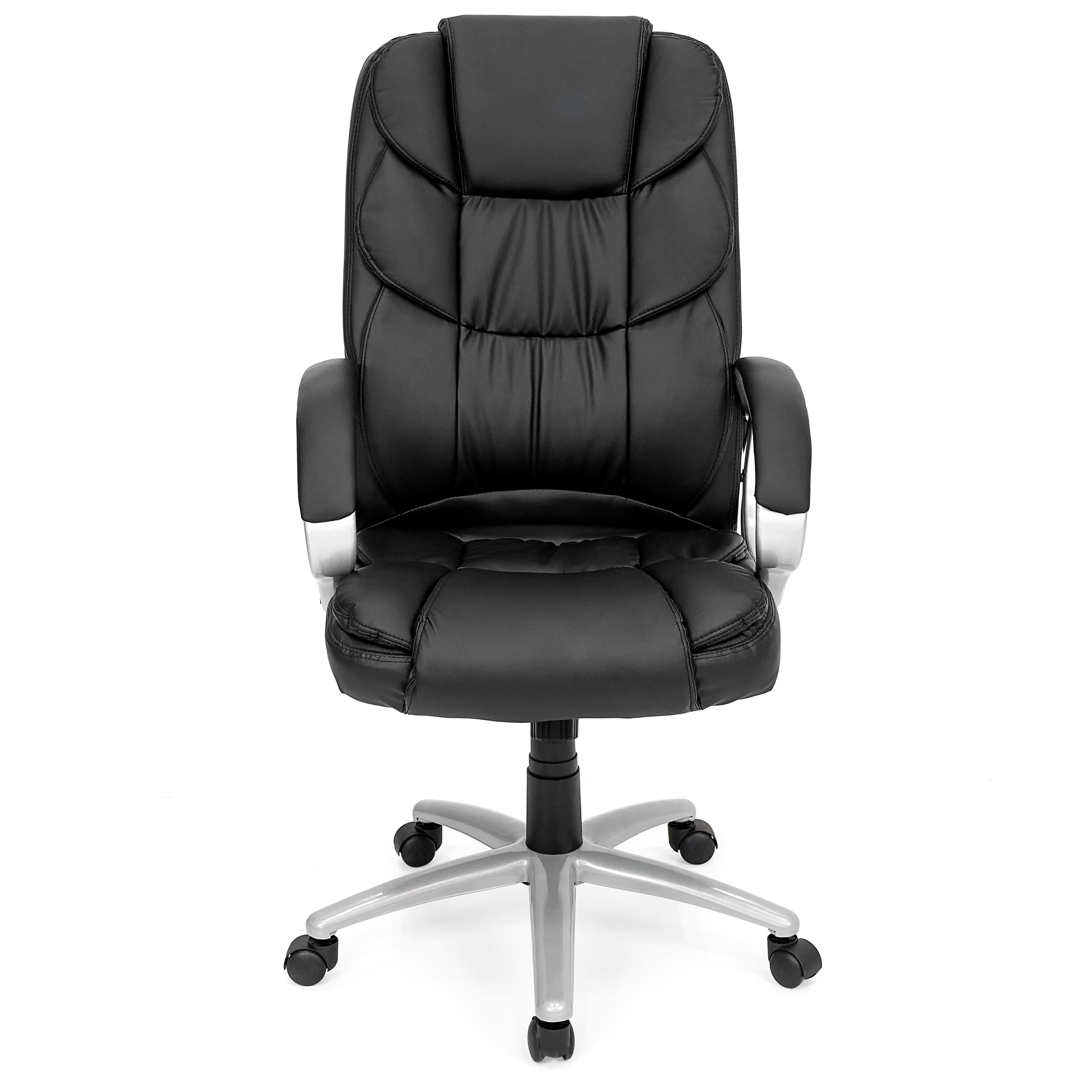 BCP Ergonomic PU Leather High Back Executive Office Chair (Black) $55.99