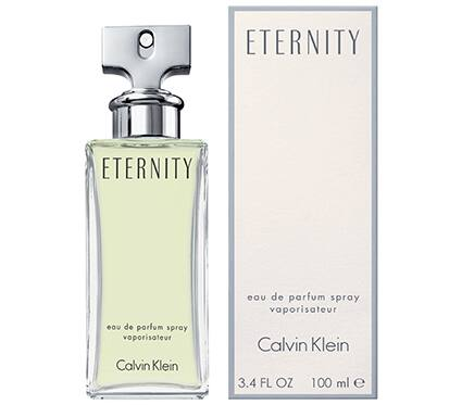 ETERNITY FOR WOMEN BY CALVIN KLEIN EAU DE PARFUM SPRAY 3.4oz $25.77