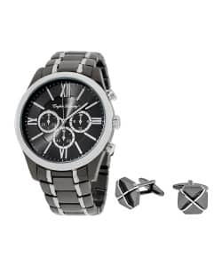 English Laundry Mens Watch and Cufflink Gift Set $39.99 + FS