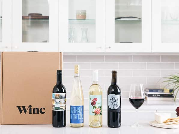 4 Bottles Of Winc Wine Delivery: $22.10