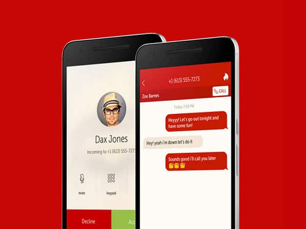 Hushed Private Phone Line: Lifetime Subscription $22.50
