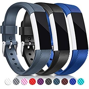 3PCS Fitbit Alta & Alta HR Replacement Bands Adjustable Sport Watch Bands $4.9 + Free shipping @Amazon.com