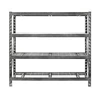 Home Depot Deal: Gladiator 4-Shelf 77 in. W x 73 in. H X 24 in. D Steel Shelving Unit 139.30 free instore pickup