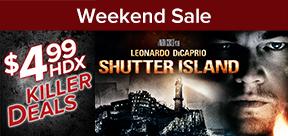 Vudu $4.99 HDX to own Killer Weekend Deals 10/6-10/9 Only