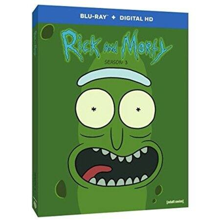 Rick and Morty Season 3 Blu-ray+Digital $10 Walmart.com