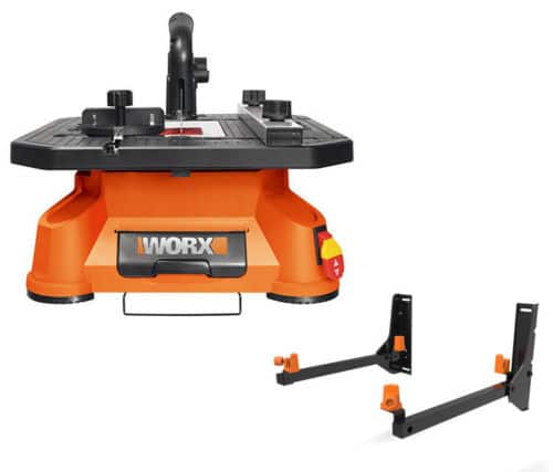 WX572L WORX BladeRunner X2 Tabletop Saw with Free Wall Mount $67.99