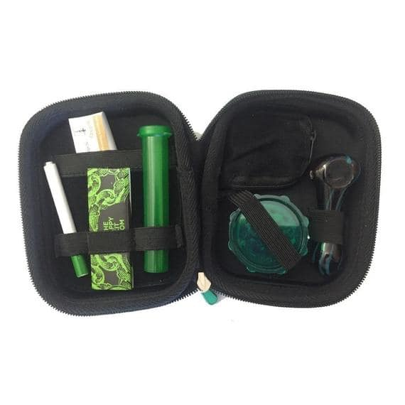 The Happy Kit Deluxe - Smoking Accessories and Case - For $14.99 + Free Shipping