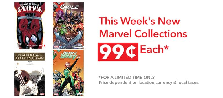 Sale: Marvel Recent Collections $0.99 Cents Each Number-4!