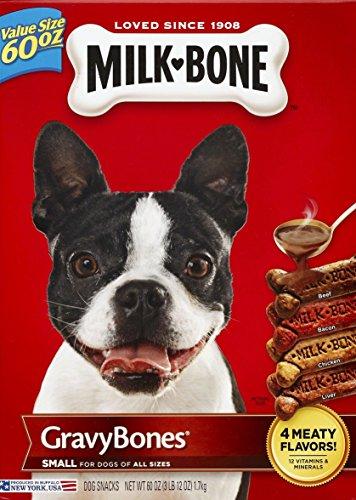 Amazon - Milk-Bone Gravybones Dog Biscuits, 60oz, 4 Count - $15.30