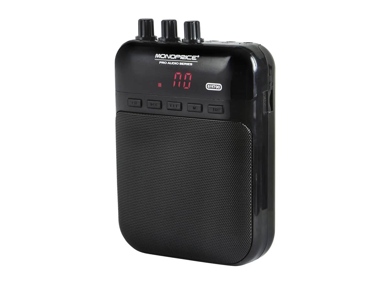 Battery-powered Mini Guitar Amplifier - $13.99 + shipping
