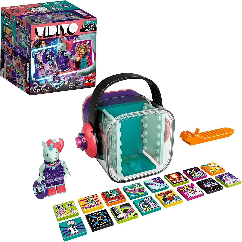 LEGO VIDIYO Unicorn DJ Beatbox 43106 or Candy Mermaid Beatbox 43102 Building Kit with Minifigure $10 each
