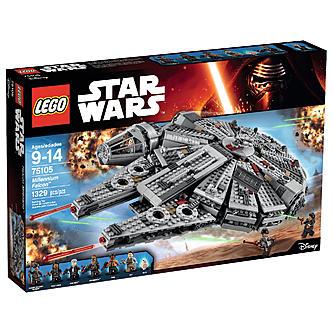 LEGO Star Wars Millennium Falcon (75105) + 2 LEGO Minifigures = $107 (Free Shipping)