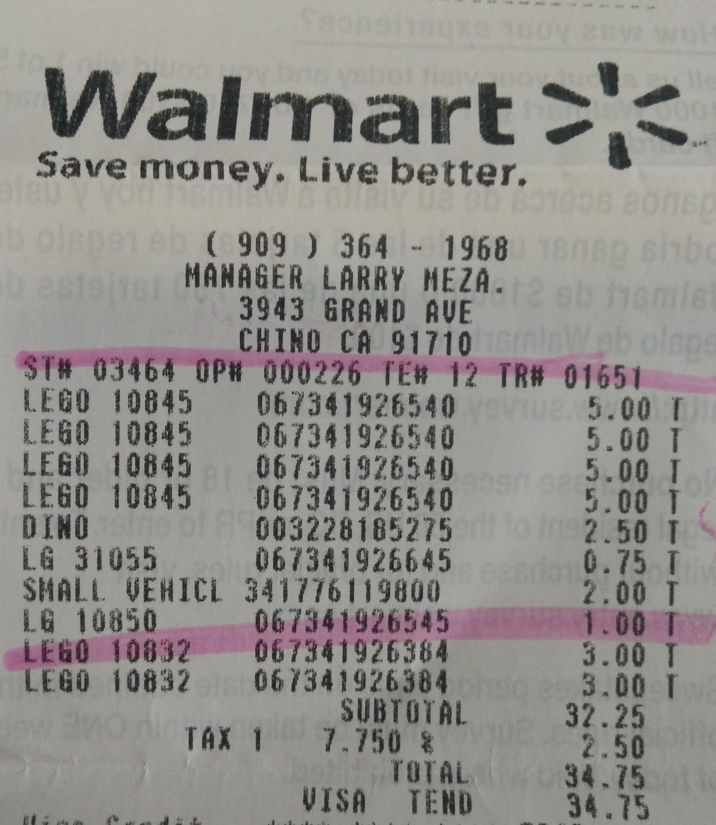 Lego Duplo Clearance in Walmart B&M (YMMV) at Walmart