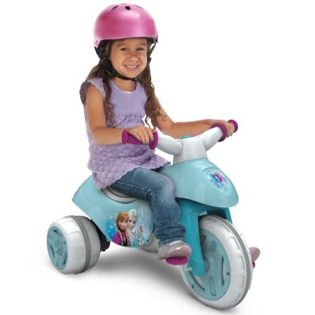 Huffy Disney Frozen Battery-Powered Electric Ride On Tricycle $25 + Free Store Pickup