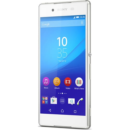 32GB Sony Xperia Z3+ White Unlocked for $299 + Free Microfiber + Free Expedited Shipping at BHPhotoVideo