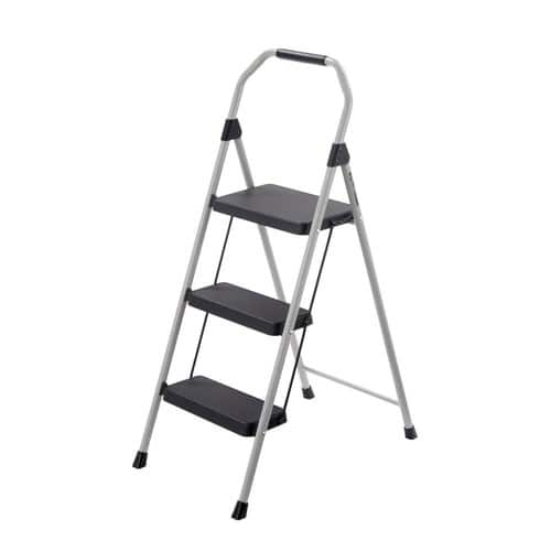 Gorilla Ladders 3-Step Compact Steel Step Stool (225lb Capacity) $9.98