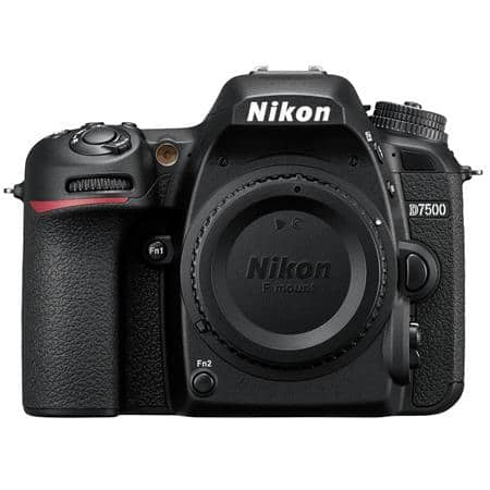 Adorama.com has Nikon D7500 20.9MP DSLR Camera Body (Refurbished) for $570. Shipping is free.