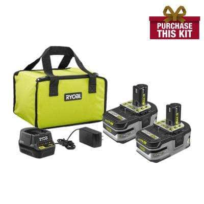 Ryobi Free Tool with purchase of 2 batteries - $149 + Free Tool