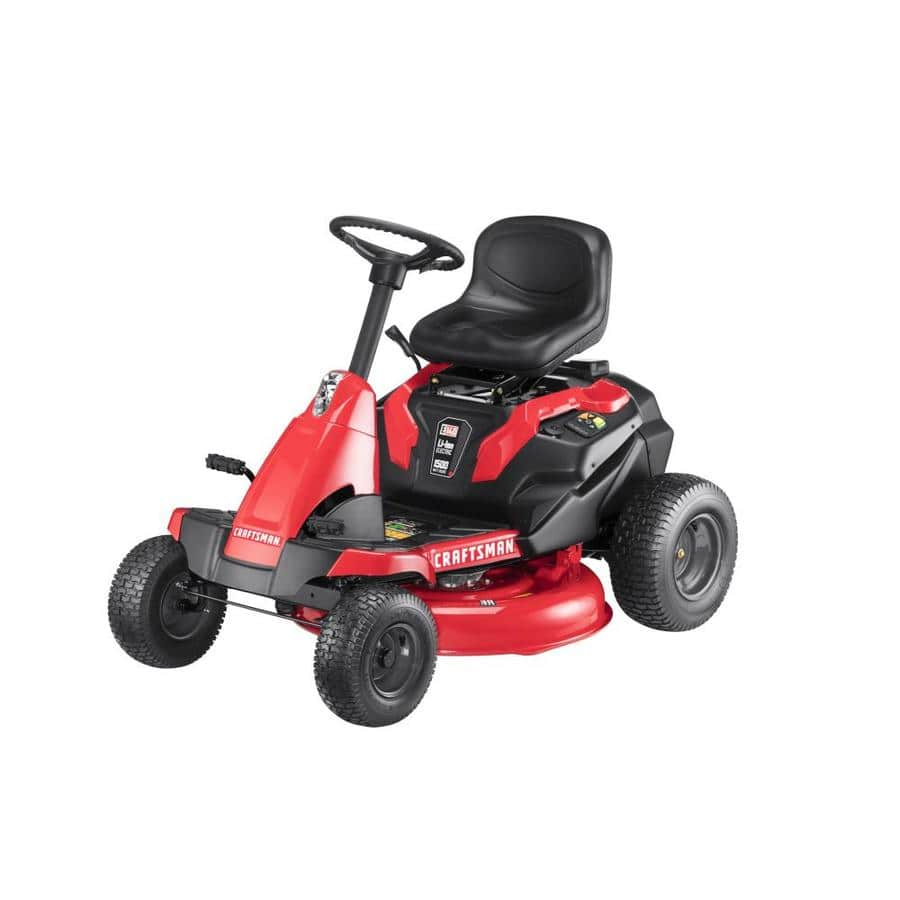 YMMV - CRAFTSMAN E150 30-in Lithium Ion Electric Riding Lawn Mower Mulching Capable $649