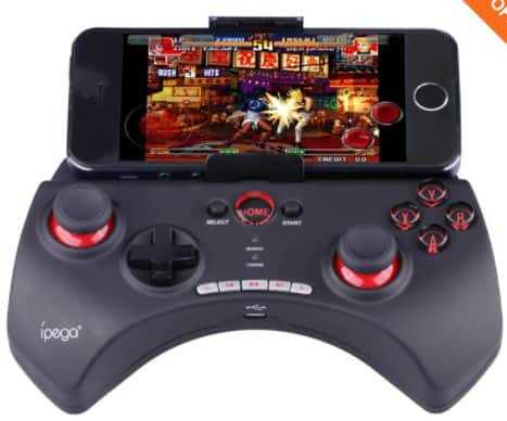 IPEGA PG-9025 Rechargeable Multimedia Bluetooth Controller for iPod iPhone iPad Android PC Games - Black $14.99 + free shipping