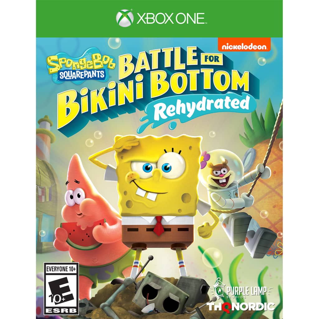 Walmart B&M - YMMV - PC/Steam - Spongebob Squarepants: Battle for Bikini Bottom Rehydrated - $10