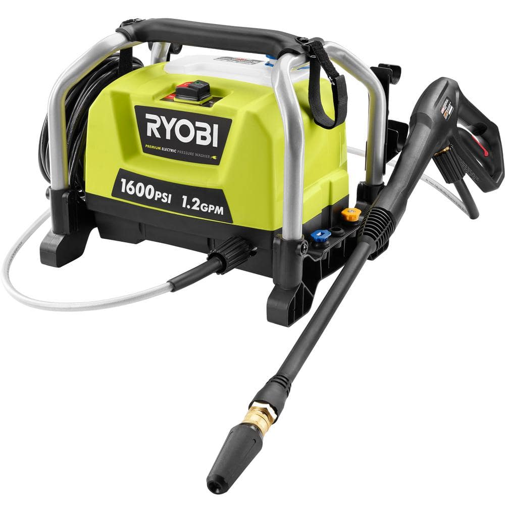 Home Depot Reconditioned 1600-PSI 1.2-GPM Electric Pressure Washer- Free Shipping $69.97