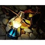 Rechargeable USB LED Camping Candle, Blow Light with Turn On / Off by Airflow Sensors (Blue) - $9.79 AC + FSSS @ Amazon.com