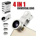 iVapo 4 in 1 Universal Cell Phone Camera Lens - $9.49 AC + FSSS @ Amazon