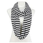 Striped Infinity Zebra Scarf - $5.20 AC + FSSS (9 Different Colored Scarves Available) @ Amazon
