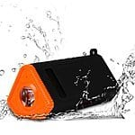 KMASHI 6W Water Resistant Wireless Bluetooth Speaker w/ 4800mAh External Battery & Flashlight - $24.99 AC + FSSS @ Amazon