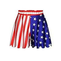 Amazon Deal: Oryer Womens American Flag Print Stretch Shorts Track Shorts - $9.09 AC + FS @ Amazon.com