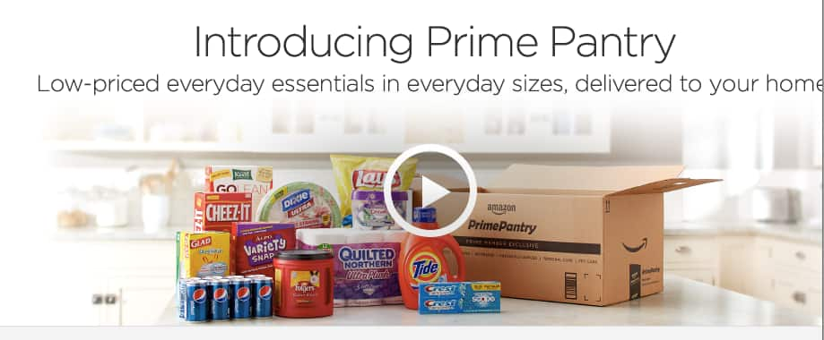 Amazon Now Giving $5.99 Prime Pantry Credit When You Choose No-Rush Shipping