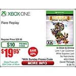 Rare Replay $19.95 @ Fry's Electronics with Promo Code