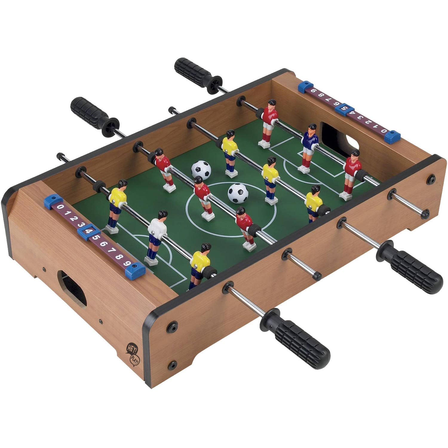 Tabletop Foosball - Portable Mini Table Football / Soccer Game Set - $16.44