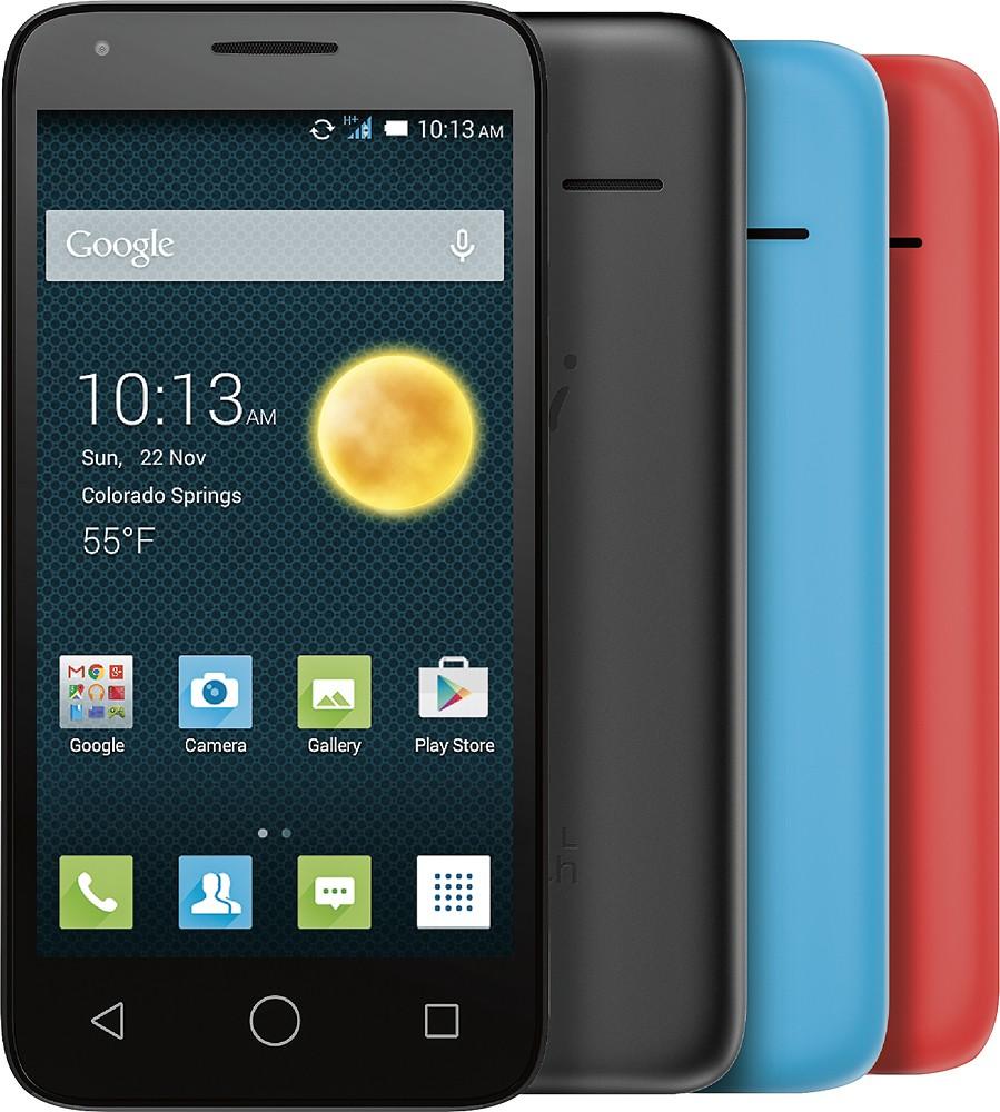 "Alcatel - OneTouch PIXI3 4.5"", 4GB ROM, 1GB RAM, 1.2 Quad-Core (Unlocked) - Black for $44.99 + FS (Bestbuy)"