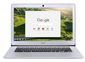 "Acer Chromebook 14, Aluminum, 14"", FHD, Intel Celeron Quad-Core N3160, 4GB LPDDR3, 32GB, Chrome for $273.99 + FS (Prime) (Amazon)"