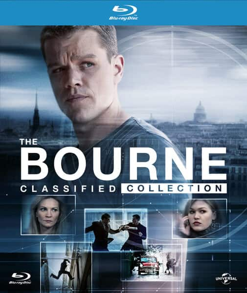 Bourne Classified Collection (Blu-ray Disc) (5 Disc) (Ultraviolet Digital Copy) for $22.99 + Free Store Pickup (Bestbuy)